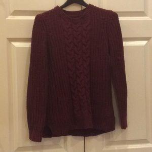 Women's Nautica Sweater Red Medium NWOT